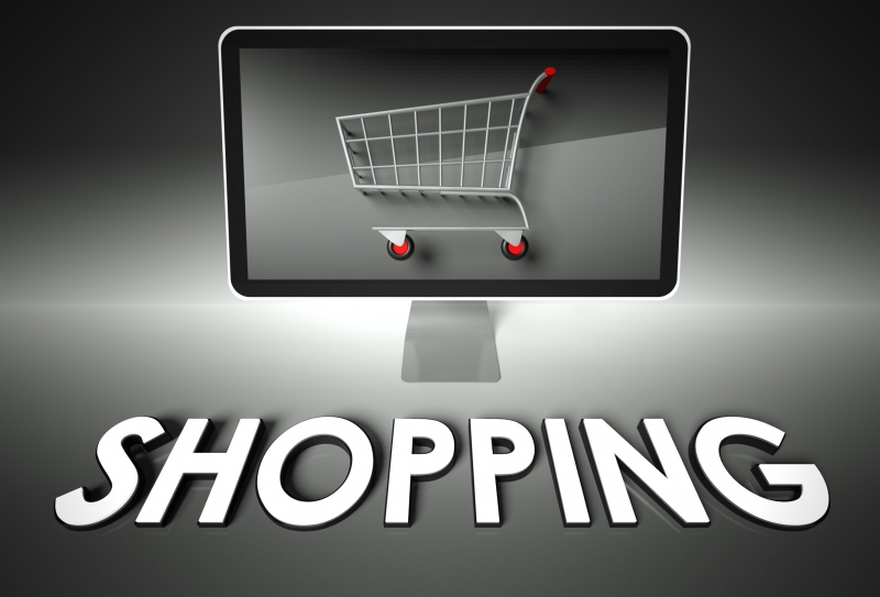 7579236-computer-and-shopping-cart-with-shopping-e-commerce